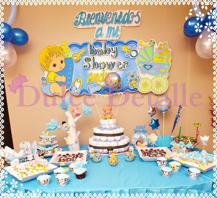 Arrangement decoracion para baby shower juegos and - Decoracion de baby shower nino ...