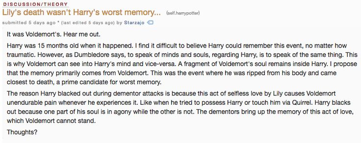 Wow! That really changes things, & this theory proves how awesome the harry potter fans are! Potterhead forever!