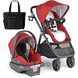 Goodbaby Lyfe Travel System with Bag - Red Merlot