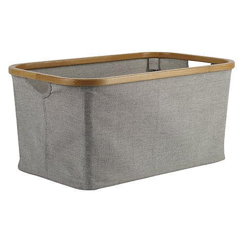Buy John Lewis Bamboo Rim Storage Basket Online at johnlewis.com