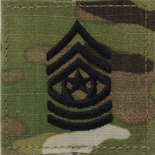 Army Command Sergeant Major Rank Insignia for Army OCP Uniform – Vanguard