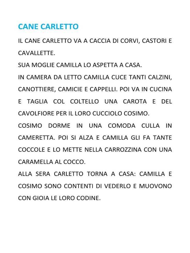 Storiella per imparare la lettera C (CA - CO - CU)