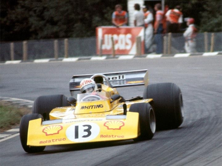 Divina Galica, Surtees TS16-Ford, Shellsport Whiting Racing, Brands Hatch 1976