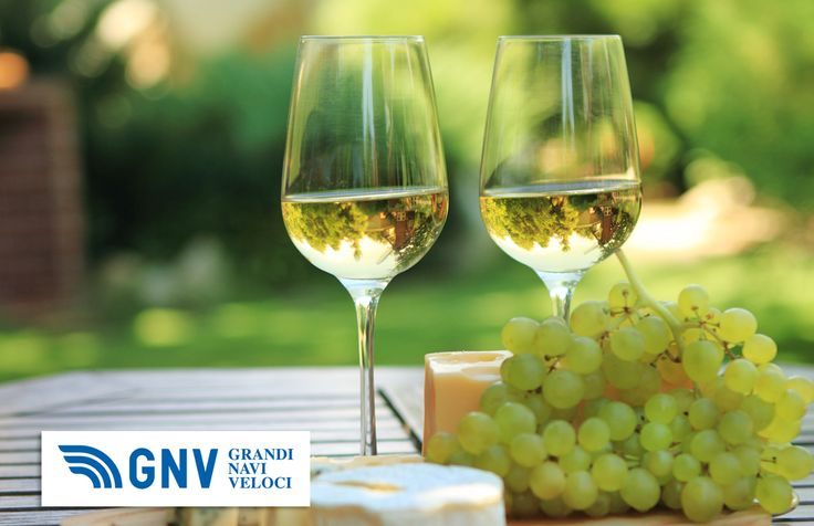 Various sorts of #cheese, #grapes and #white #wine, typical #Italian #food. Discover GNV here: www.gnv.it/en/