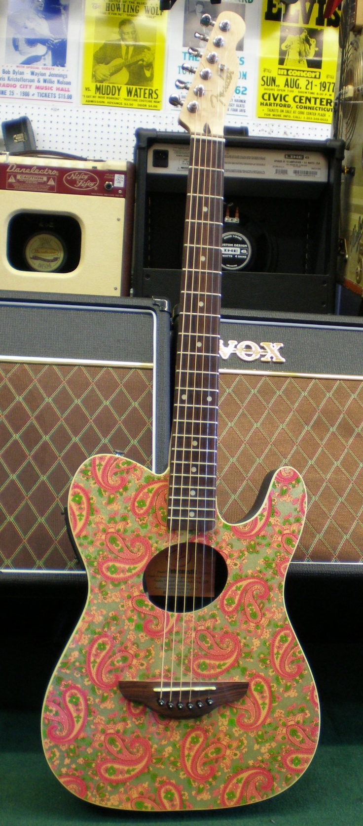Fender Telecoustic limited edition