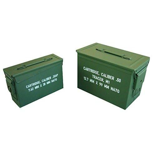 2 Metal Military Utility Boxes Army Marines Navy Seals Air Force Army Shop Army Store