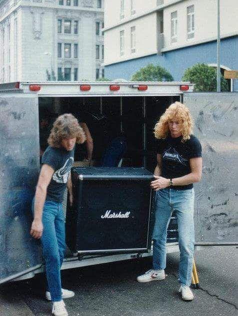 Ron McGovney & Dave Mustaine