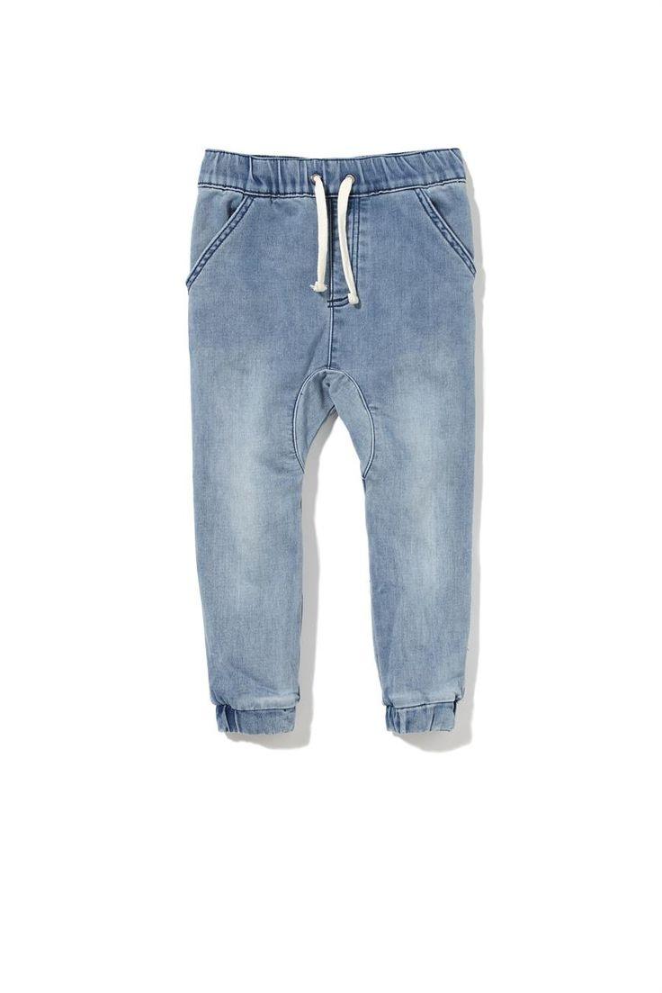 Jeans Boys Cuffed Blue