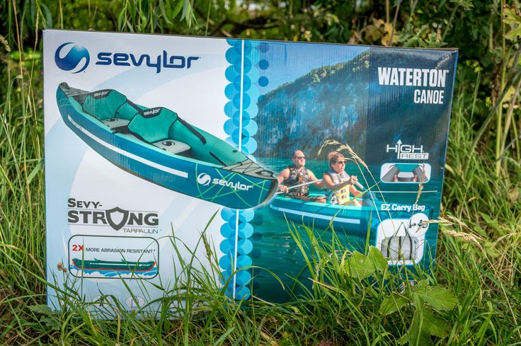 Sevylor Waterton Test: great design improvements in inflatable canoes