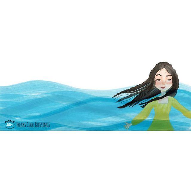 submerged in His presence  #illustration #ilustracion #drawing #God #faith