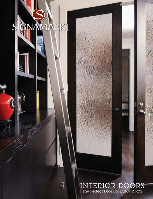 17 best images about interior doors on pinterest shaker style window and galleries for Signamark interior glass doors