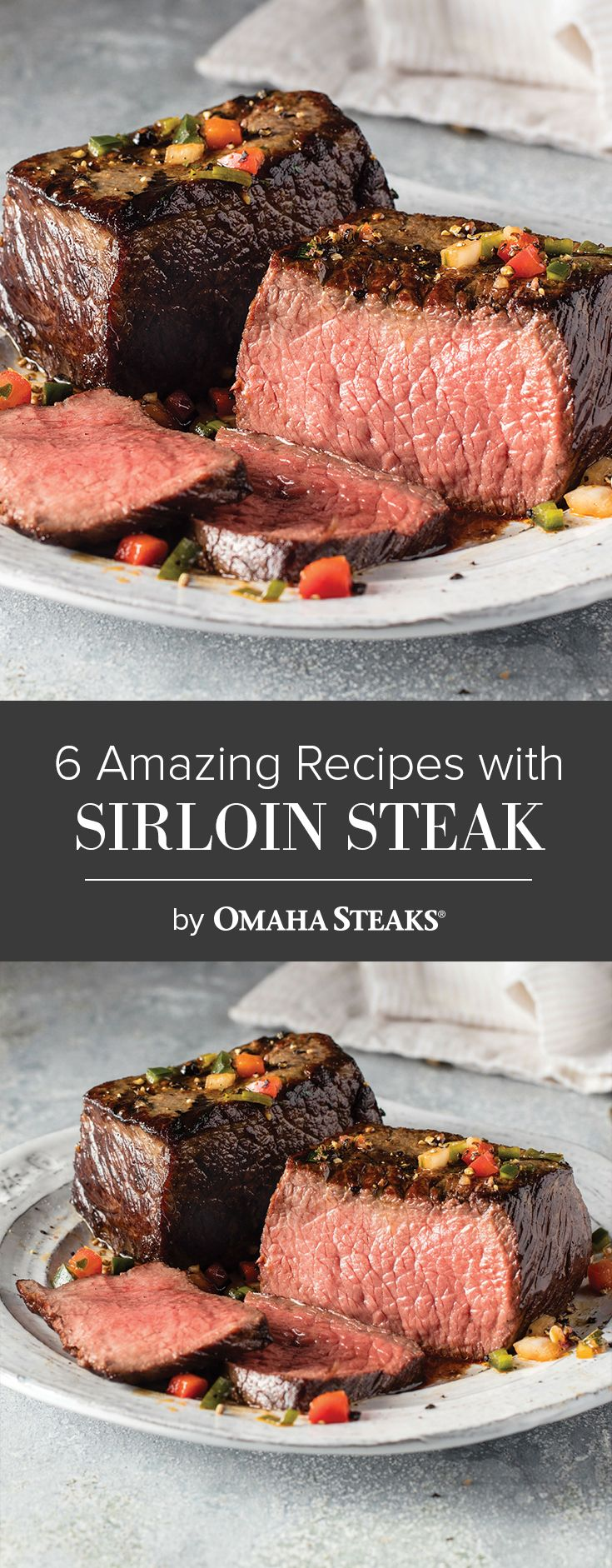 how to cook a top sirlone stake