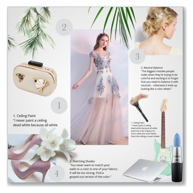 """Без названия #1"" by valentina-lisovskaya on Polyvore featuring мода, MAC Cosmetics и Dyson"