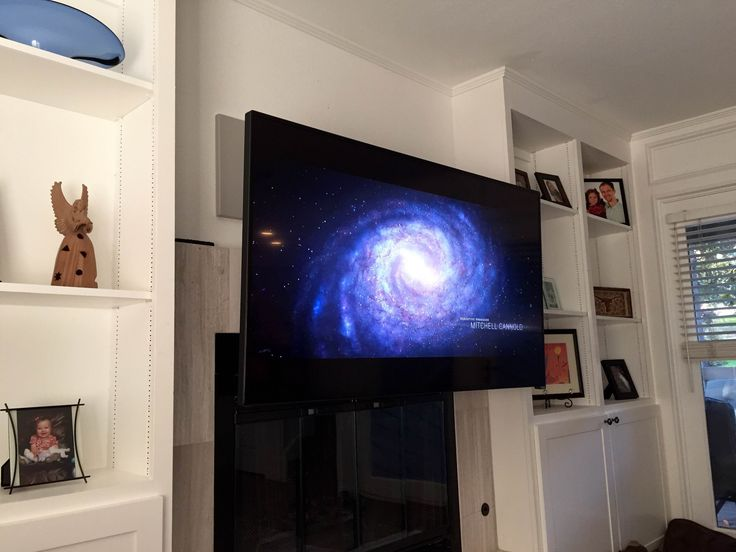 17 best images about mantelmount tv wall mount on - How high to mount tv in living room ...
