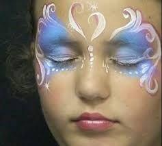 Resultado de imagen para caritas pintadas de sirena