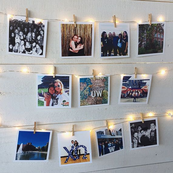 Display your college life Instagram photos in your dorm, apartment, or sorority.  Includes one college map and 14 of your own personal photos.  Visit Wild in WAnderland to check it out!