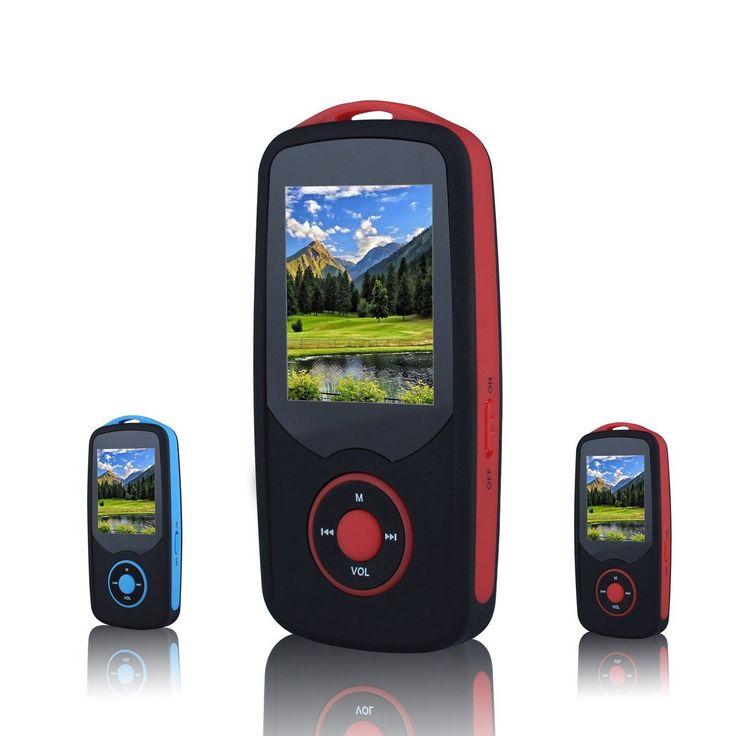 Amazon.com : FecPecu Lossless Sound 4GB Bluetooth MP3 Player Hi-Fi ...