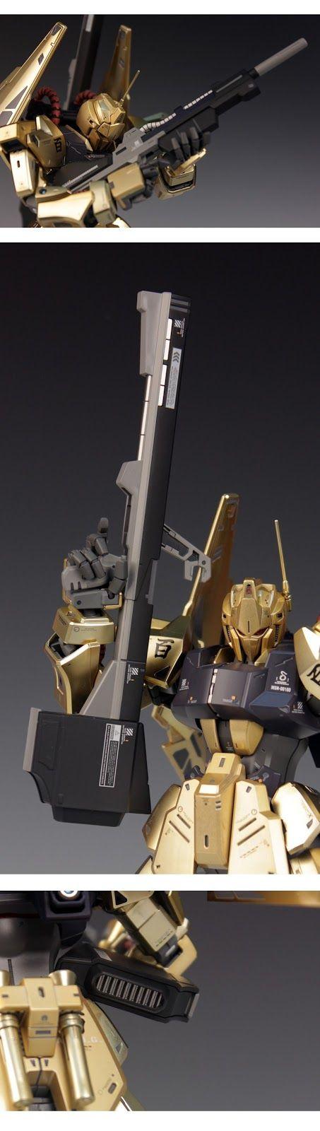 GUNDAM GUY: MG 1/100 Hyaku Shiki Ver 2.0 - Painted Build