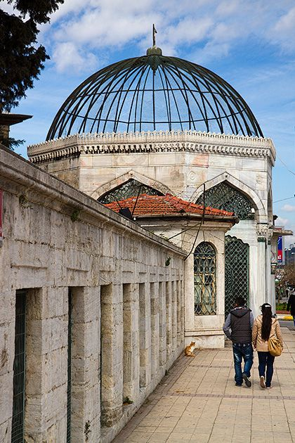 Üsküdar's Mosque, Istanbul, Turkey