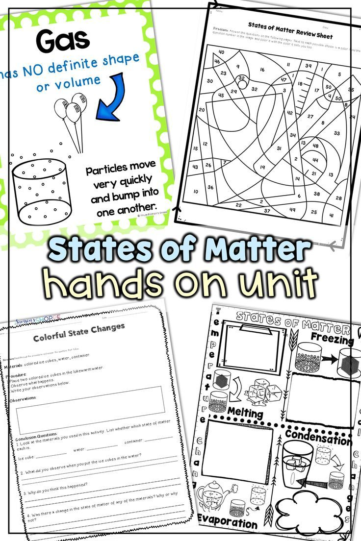States Of Matter Teach Your Students All About Solid Liquid And Gas Phases With This States Of Matter States Of Matter Worksheet Guided Reading Worksheets