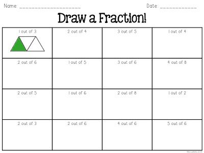 25+ best ideas about Fraction activities on Pinterest | Teaching ...