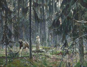 Картины Павла Рыженко - XIX-XX век » Преподобный Серафим