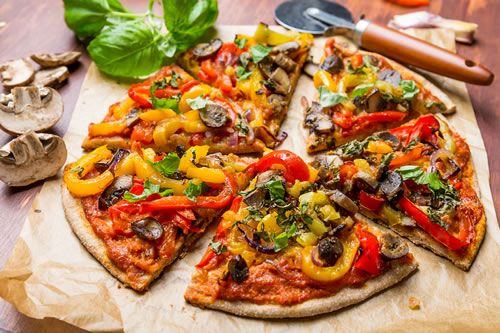 Transform your summer fruits and veggies into a mouthwatering pizza with #WhollyWholesome #GlutenFree pizza dough!