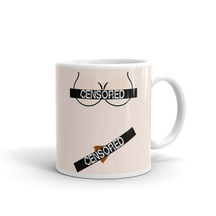 Censored nudity beige coffee mug, funny cartoon clipart, kinky adult design  Whether you're drinking your morning coffee, your evening tea, or something in between – this mug's for you! It's sturdy and glossy with a vivid print that'll withstand the microwave and dishwasher.  • Ceramic • Dishwasher and microwave safe • Beige and glossy • 11fl oz and 15fl oz available  order will be processed by printful and sent to you directly. More of our art & design at:  https:...