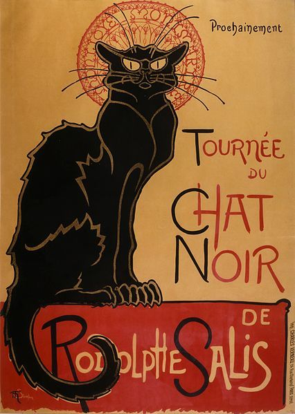 Playful Kitty | Cats in Art: Theophile Steinlen | http://www.playfulkitty.net