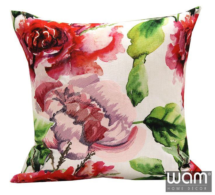 Summer Blooms cushion, coordinates beautifully with the summer range available online now, visit WAM Home Decor to see the full range http://wamhomedecor.com.au/index.php/summer-blooms-cushion-45x45cm.html