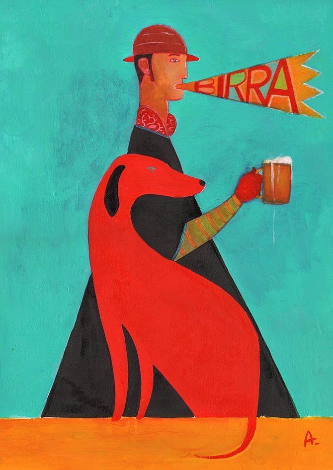 Birra Cane Rosso