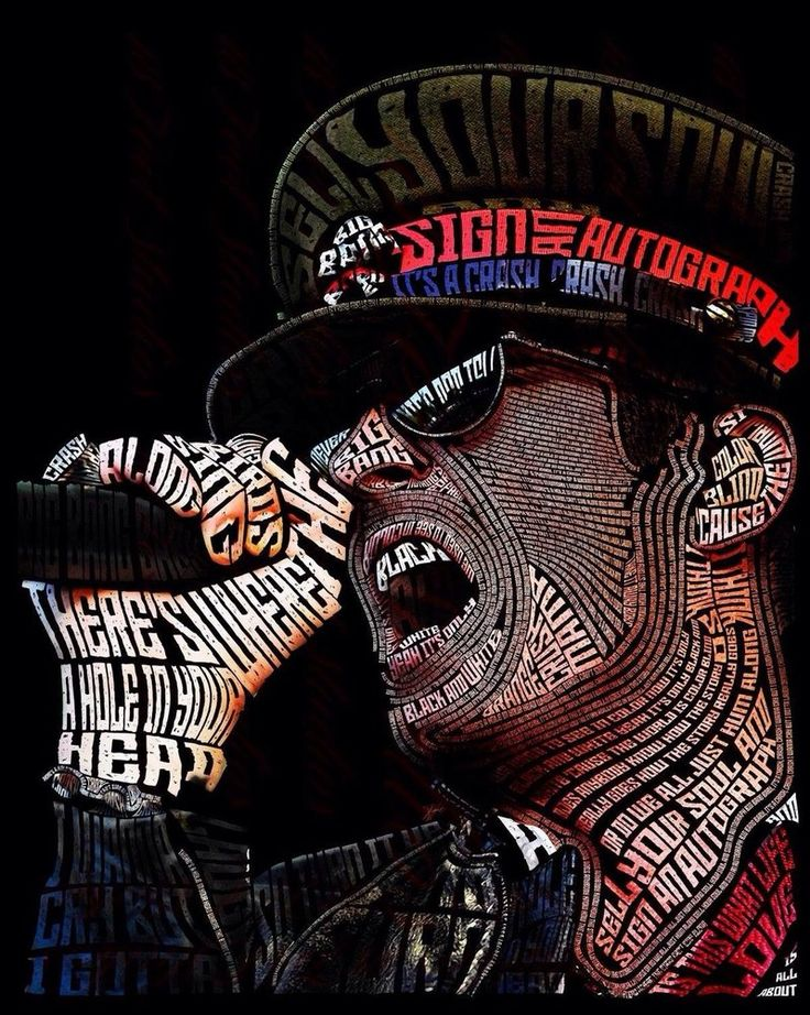 Scott Weiland Typography Portrait by lilysmom85.deviantart.com on @DeviantArt