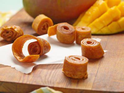 Easy Mango Fruit Roll-Ups