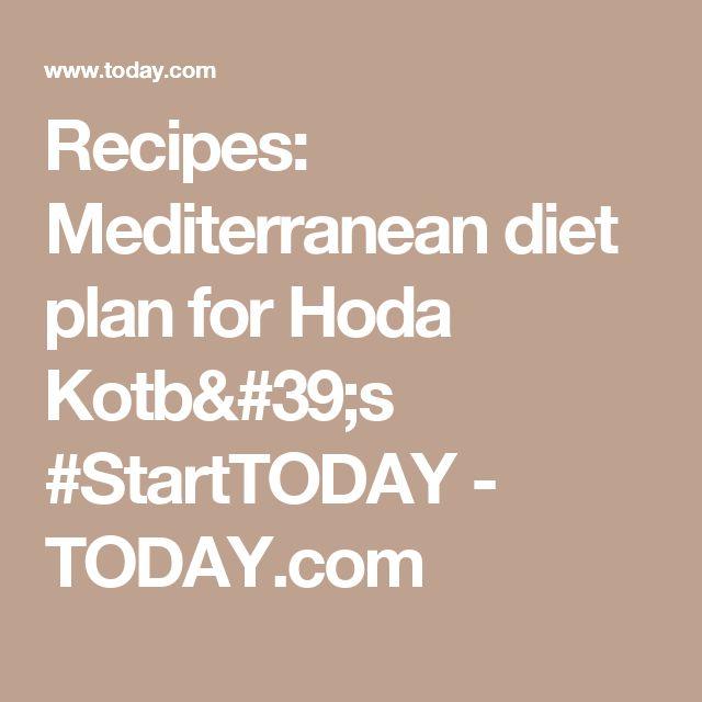 Recipes: Mediterranean diet plan for Hoda Kotb's #StartTODAY - TODAY.com
