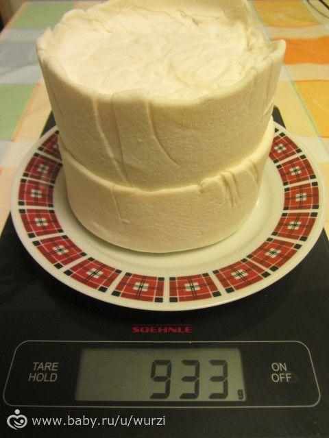 МК по изготовлению мягкого домашнего сыра (типа Имеретинский)