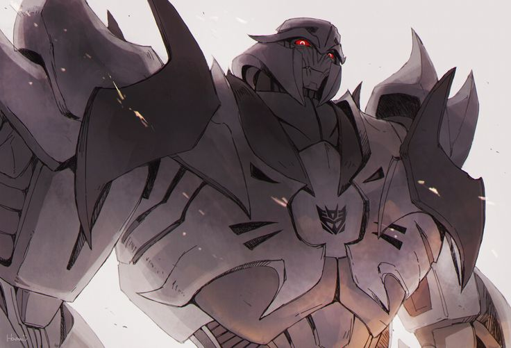 TFP Megatron.    Honestly when I first watched prime (which was I was 6 or7) Megatron scared me