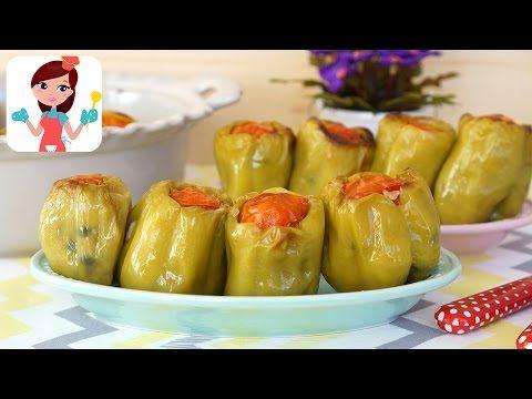 Zeytinyağlı Biber Dolması (Videolu Tarif)   Kevserin Mutfağı - Yemek Tarifleri