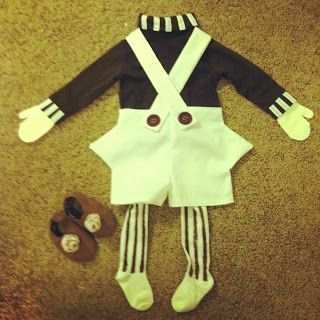 DIY Oompa Loompa costume