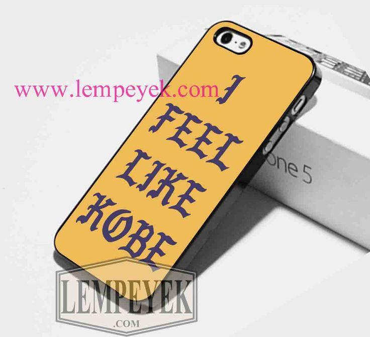 Kanye West I Feel Like Kobe Phone case iPhone case, Samsung Galaxy case, HTC one…
