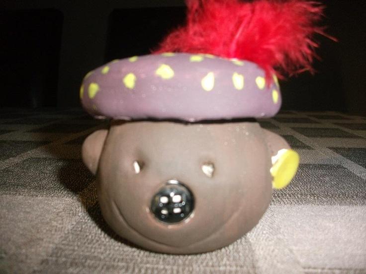 Zwarte Piet in klei