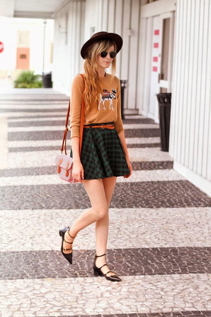 Seasons, Plaid skirts and Animals on Pinterest