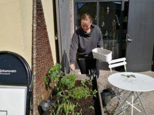 Camilla vil gjøre lokalsamfunnet grønnere