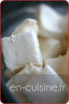 French marshmallows. Recette guimauves à la vanille au Thermomix