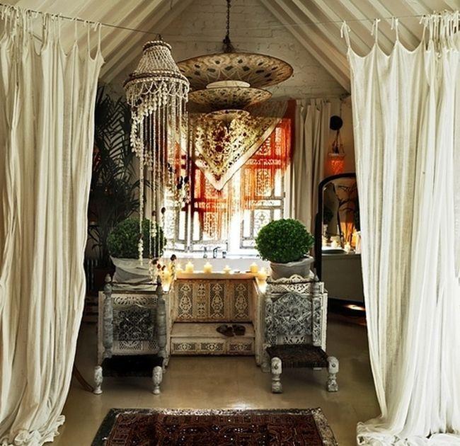 Best 25 Gypsy Curtains Ideas On Pinterest: Bohemian Bathroom, Beaded Curtains And Boho Curtains