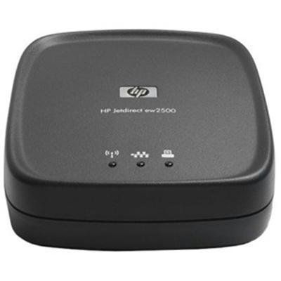 New Hp Hardware Jetdirect Ew2500 Wireless Print Server Form Factor External Quick Installation Guide by HP Hardware. $219.98. HP Jetdirect ew2500 Print server Shipping Weight: 2 pounds (View shipping rates and policies)   ASIN: B004UJOGMO Item model number: J8021A#ABA
