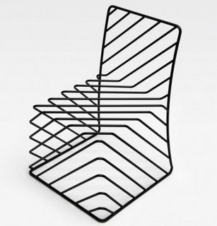 17 best images about wire frame furniture on pinterest for Steel chair design