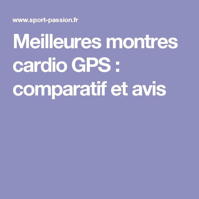 Meilleures montres cardio GPS : comparatif et avis