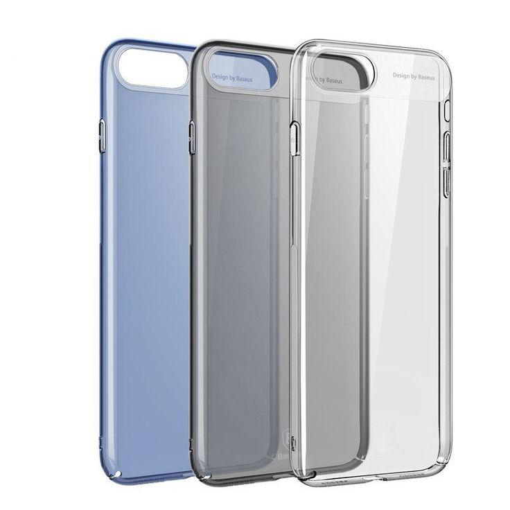 Baseus Ultrathin Transparent PC Case Cover For iPhone 7…