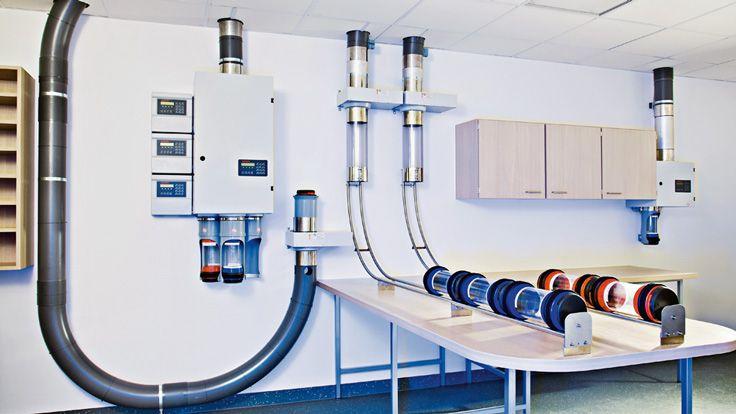 Rohrpost etabliert sich in Kliniken - DVZ