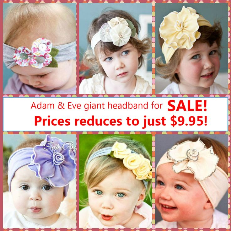 Adam & Eve Giant Headbands for SALE!  Prices reduces to just $9.95! (Australia only)  Available in AU, NZ & UK  AU: http://buff.ly/1CiPuEk Price: $9.95  UK: http://buff.ly/1vsZZWZ  NZ: http://buff.ly/1CiPQL8